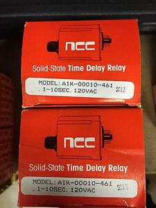 AMETEK / NCC T3K-00010-461 1-10sec. 120VAC relay