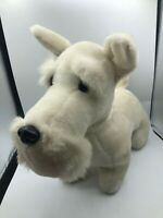 Vintage Special Effects Mac Dougal White Dog Plush Soft Stuffed Toy Animal Doll