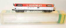 Minitrix Spur N 13567 Güterwagen AEG Lavamat