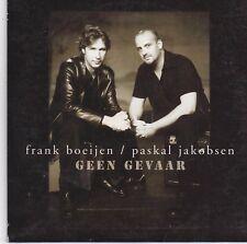Frank Boeijen/Pascal Jakobsen-Geen Gevaar  cd single (BLOF)