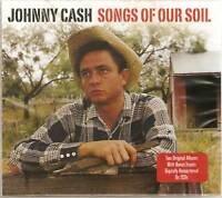 JOHNNY CASH SONGS OF OUR SOIL 2 CD SET