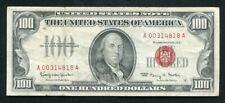 FR. 1550 1966 $100 ONE HUNDRED DOLLARS LEGAL TENDER UNITED STATES NOTE VF (D)