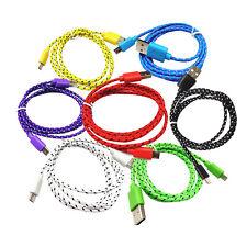 Bunt 2M Für Samsung Datenkabel Micro USB Ladekabel  Datenleitungen Farben Kabel