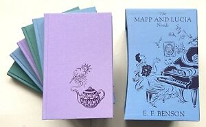THE MAPP AND LUCIA NOVELS (6 Volumes) - THE FOLIO SOCIETY, 2009