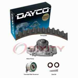 Dayco Timing Belt Kit with Water Pump for 1988-1991 Honda CRX 1.6L L4 Engine lv