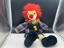 Sigikid Stofftier Sammler Clown Puppe 48 cm. Top Zustand