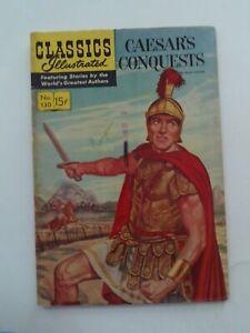 Classics Illustrated #130 - CAESAR'S CONQUESTS - HRN 130 VG