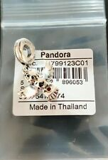 Pandora Charm Bead 799123C01 Harry Potter Hedwig Owl Dangle Charm S925 ALE