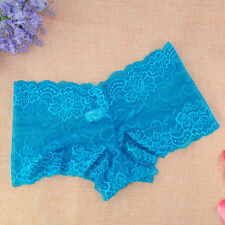 Hot&Sexy~Women Lingerie Sheer Lace Hipster Underwear Panties Briefs Knicker Plus