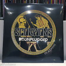 SCORPIONS - UNPLUGGED IN ATHENS 3LP *IMPORT* BRAND NEW *SEALED*