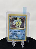 Gyarados 6/102 Base Set Unlimited Holo Rare Pokemon Card WOTC 1999 With Tracking