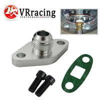 FOR TOYOTA LEXUS 1JZ 2JZ GTE VVTI TURBO OIL DRAIN AN10 10 ADAPTER FLANGE RETURN