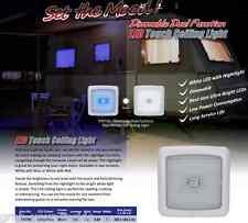 LED Light 12 volt Ceiling Light Blue/White LED's Dimmable Caravan Boat 96 LEDS