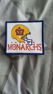 Original London Monarchs Patch