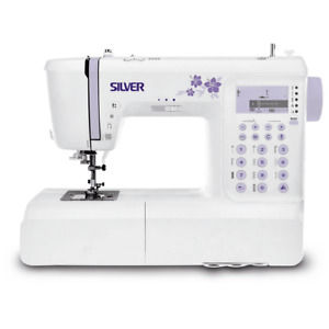 Silver 404 Sewing Machine Quilting Sewing Built in Accessory Box Brand New Boxed