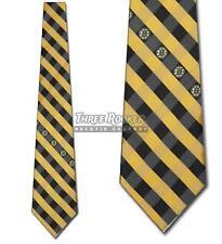 Boston Bruins Tie Bruins Neckties Mens Licensed Hockey Neck Ties NWT