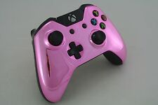 Microsoft Xbox One Wireless Controller Custom Chrome Pink