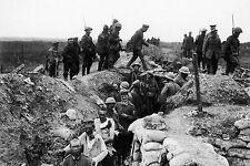Framed Print - World War 1 Trench Warfare (Picture Poster WW1 WW2 Military Army)