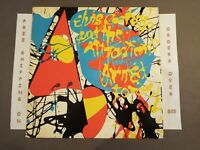 ELVIS COSTELLO AND THE ATTRACTIONS ARMED FORCES 1978 LP W/ ORIGINAL INNER 35709