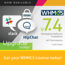 Brand New 7.4.2 Genuine Lifetime WHMCS Unlimited Client License.