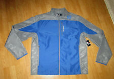 NWT J AMERICA NCAA PEAK CREIGHTON BLUEJAYS FULL ZIP UP POLYESTER JACKET XXL
