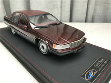 1/18 1993 Cadillac Fleetwood Brougham red ORIGINAL Factory authorization