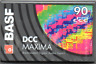 New BASF DCC Digital Maxima 90 Blank Cassette - 2 NEW Sealed DCC Tapes  RARE