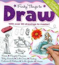 Funky Things to Draw by Hinkler Books PTY Ltd (Hardback, 2013)