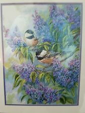 Dimensions Gold Collection Counted Cross Stitch Kit - Chickadees and Lilacs