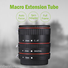 WEIHE Auto Focus Macro Plastic Extension Tube for Canon EF EF - S Lens