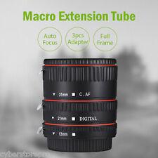 WEIHE auto focus macro plastique Tube d'extension pour Canon EF EF - S Objectif