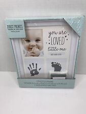 Stepping Stones First Prints & Baby's Picture Frame and Ink Fr C.R.Gibson