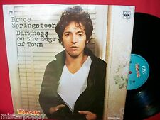 BRUCE SPRINGSTEEN Darkness on the edge of town Promo only LP ITALY 1990 MINT-
