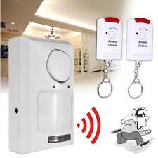 Wireless IR Motion Sensor Detector Home Security Door Entry Burglar Alarm System