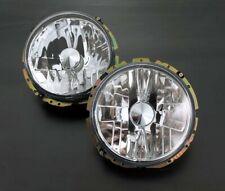 LHD VW Golf MK1 1 Beetle T2 Bus Crystal Clear Chrome Headlight Head Light Lamp