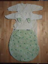 ALVI Schlafsack Baby 56/62 und Innensäcke 56 + 62 cm