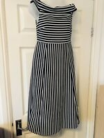 BANANA REPUBLIC SIZE 6 DRESS STRIPED LONG DRESS NEW WITH TAGS Empire 2
