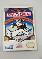Nintendo NES - Monopoly - Complete in Box CIB - Excellent Condition