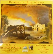 Remember the Alamo 1000+ Piece Jigsaw Puzzle by SunsOut