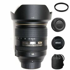 Nikon AF-S 24-120mm F/4G ED VR + 77mm UV Filter