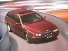 BMW 520i 523i 528i 540i 525tds 530d E39 Touring +Individual 9/1999 NEU Brochure