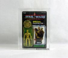 NEW 1984 Vintage Star Wars ✧ C-3PO ✧ Kenner POTF 93 BK UKG 90/85/90 AFA V120