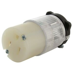 15 Amp NEMA 5-15P Household Connector Assembly With Power Indicator by AC WORKS®