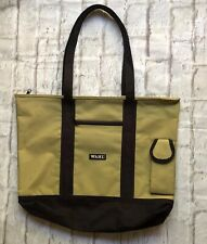 WAHL Professional Hairdressing Tote Tool Carry Bag Khaki Black Almost Like New