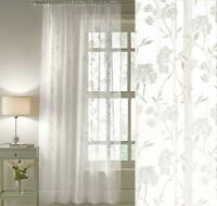 JODIE A MUSLIN LOOK CREAM VOILE WITH LEAD WEIGHTED HEM NET CURTAIN BY THE METRE