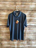 Columbia Mens Blue Utilizer Short Sleeve Polo Shirt OmniWick Size XL New NWT