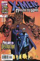 1999 X-MEN: THE MAGNETO WAR #1 ( PRELUDE TO DESTRUCTION )  MARVEL   VF/NM