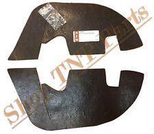 Inner Fender A Arm Dust  Splash Shields Water Seals Seal 1968-1972 Chevelle