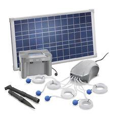 Solar Teichbelüfter 25W 600l/h + Akku Teichbelüftung Sauerstoff esotec 101086