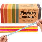 5-Pack Glitter Monkey Noodle Stretchy String Fidget / Sensory Toys